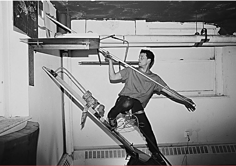 Matthew Barney, Drawing Restraint – depuis 1987, photo Michael Rees.